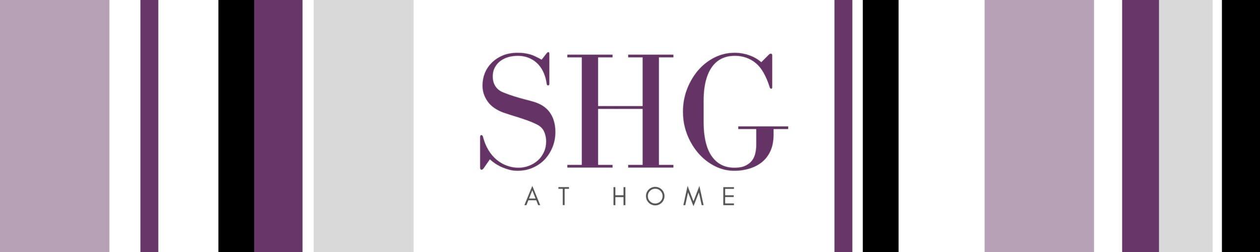 SHG at Home Banner